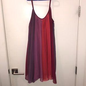 Free people multi colored dress